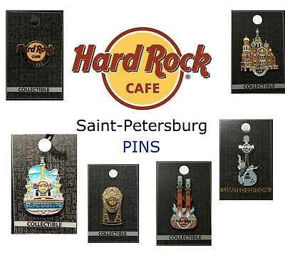 New Hard Rock Cafe HRC St.Petersburg Saint Petersburg Russia many PIN PINS