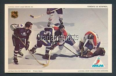 Pro Star 1971-72 Dryden Rookie Toronto Maple Leafs  Montreal Canadiens Rare Card