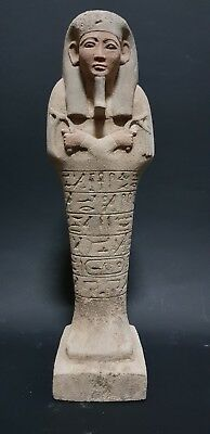 Ancient Egyptian Antiques Hieroglyphics Ushabti (Shabti) New Kingdom Statue Bc