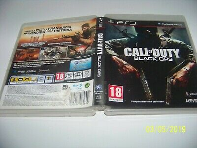 Call Of Duty Black Ops  - Completo, Pal España· Ps3 ·