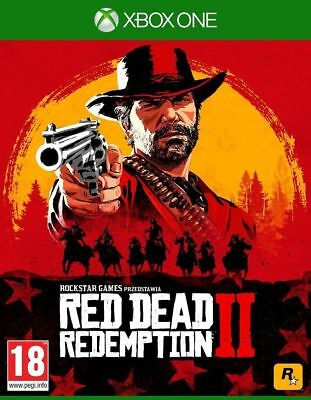 Red Dead Redemption Ii Two 2 - Xbox One Video Game - New & Sealed Uk Stock