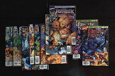 Fantastic Four Vol 2 1 - 13 Lot