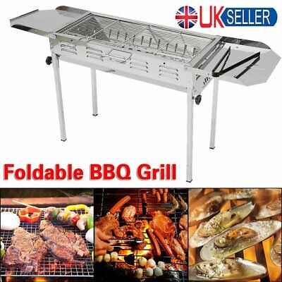 Portable Folding Charcoal BBQ Barbecue Grill Garden Party Outdoor Camping Tool
