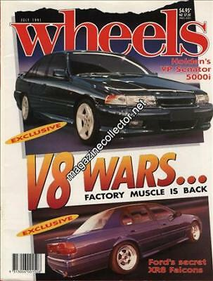 Holden HSV VN Commodore SS Group A article in Wheels magazine July 1991