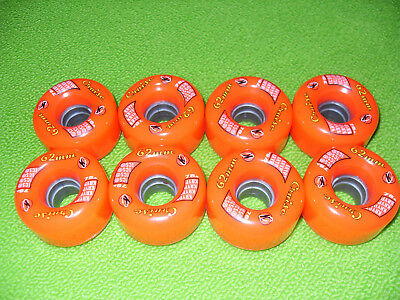 KRYPTO Cruise 62m 78A quad roller skating wheels/speed skate/derby/Bauer/Roces..