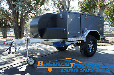 Compact Mini Off Road Camper Trailer 4WD 4X4