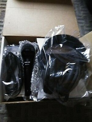 Tascam Starter Pack Headphones, Mic, And Cable NEW
