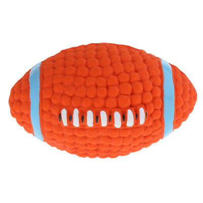 Funny Football Pet Dog Toys Soft Plastic Puppy Squeaky Training Balls