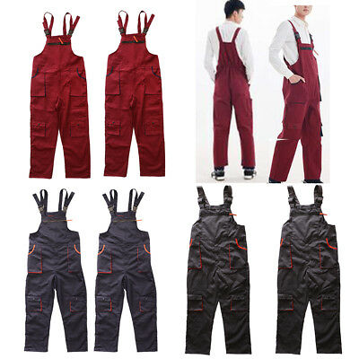 Boilersuit Safety Work Coveralls Stud Overalls Mens Tuff Workwear Unisex