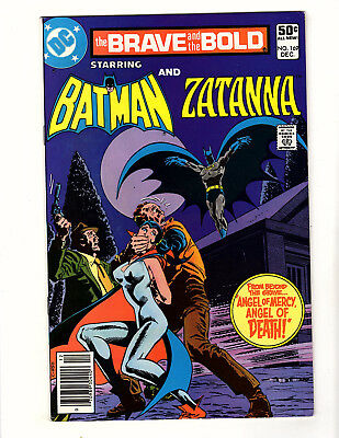 The Brave and the Bold #169 (1980, DC) FN- Batman & Zatanna Team-Up Jim Aparo