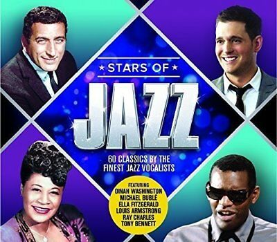 Stars Of Jazz: 60 Classics By The Finest Jazz Vocalists [CD]