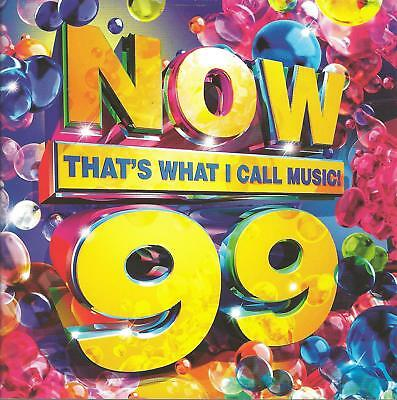 2018 UK POP DANCE CD: VARIOUS ARTISTS - NOW THAT'S WHAT I CALL MUSIC! 99 (2CDs)