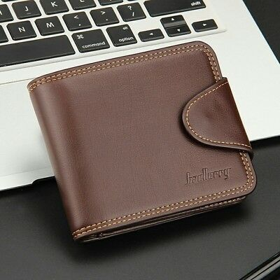 High Quality Short Men's Wallet Leather Guarantee Purse For Male Coin Purse