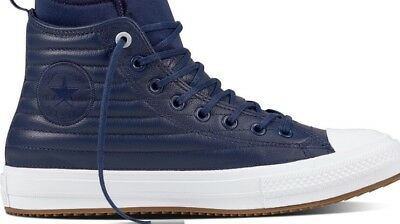 38c68f8fd18 Converse Chuck Taylor All Star CTAS Wp Boot Hi Midnight Navy Leather 157490C