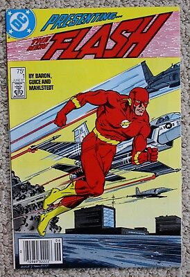The Flash #1 Nm (1987) Wally West As The Flash Plus Issues 2, 3, & 4