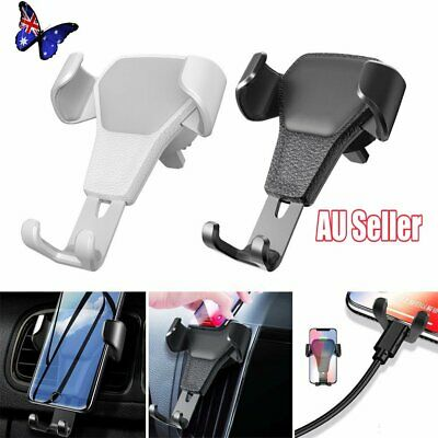 Universal Car Gravity Air Vent Phone Holder For iPhone Samsung Bracket 2019 NW