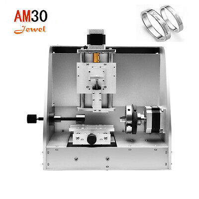 Easy operating multifunctional AM30 cnc jewelry M20 engraving machine