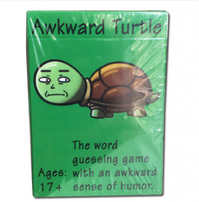 Awkward Turtle-Like Cards Against Humanity+Taboo Together Party Game Toy NEW