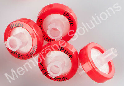 10pcs/Bag Syringe Filter OD=13MM,0.22 Micron,Made From PTFE, Disposable MS@ Lab
