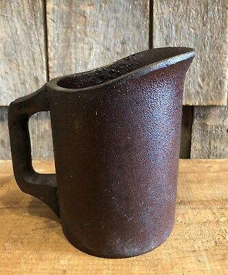 RARE Antique 1800's United Indurated Fibre Co. Portland Maine Pitcher Jug