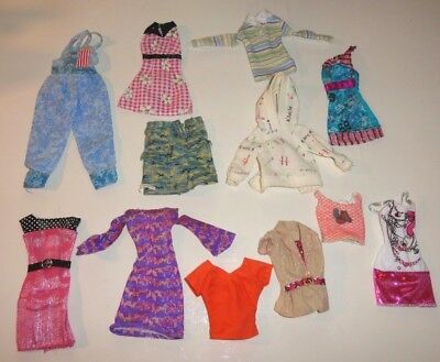 Barbie ~ Fashion Doll Mixed Lot Clothes ~  Sold As Is ~ Cheaper By The Dozen #10
