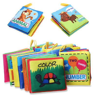 Cloth Books Learning Cognition Infant Child Toy Kids Intelligence Development