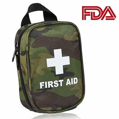 First Aid Kit for Hiking, Backpacking, Camping, Travel, Car & Cycling.Free Shipp
