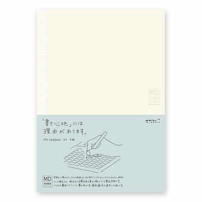 Designphil traveler's notebook MD notebook A5 Grid Ruled Midori Japan 15003006