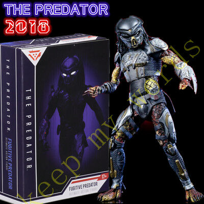 "New Movie FUGITIVE PREDATOR 2018 Neca 7"" action figure Ultimate Gift Toy Model"