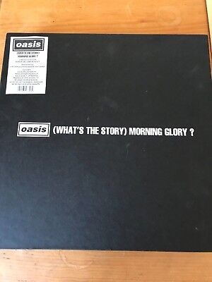 Oasis Whats the Story.. Super Deluxe Ltd Ed Boxset Sealed Vinyl&3CD Hardback Bk