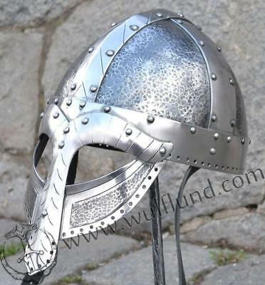 Medieval Vintage Norman Viking Armour Helmet Spectacle Replica Halloween Gift
