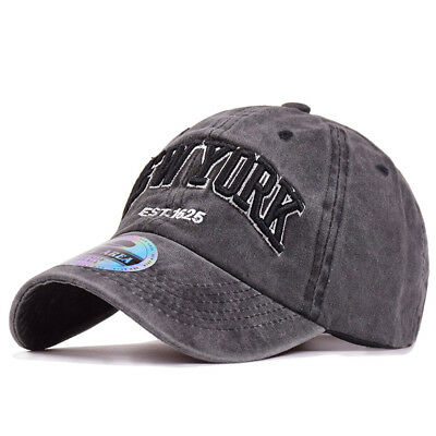 Mens Unisex Washed 100% Cotton Baseball Cap Vintage Dad Hat NEW YORK Embroidery