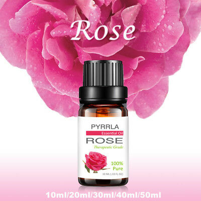 Rose Essential Oil 100% Pure Natural Aromatherapy Undilluted Therapeutic Grade