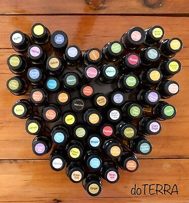 ESSENTIAL OIL BLENDS using ONLY doTERRA OILS -  5ml ROLLER BTL (Mixed with FCO)