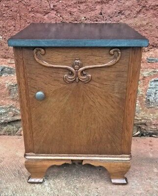Vintage French Bedside Cabinet / Vintage French Pot Cupboard