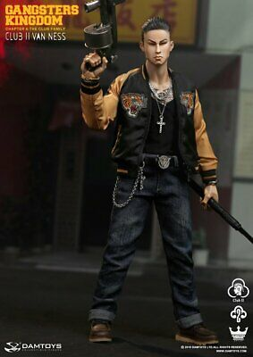 DAMTOYS GK017 Gangsters Kingdom Club 2 Van Ness WU Action Figure New