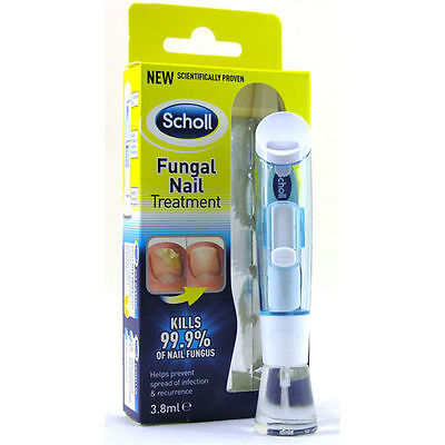 3 X Scholl Fungal Nail Treatment 3,8ml Kill Fungus 99.9% VERY EFFECTIVE
