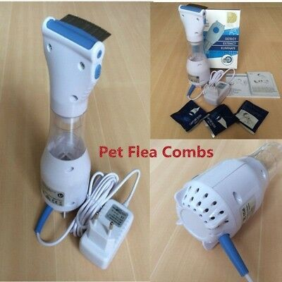 EU/US/UK Plugs Electric Lice Nit Removal Comb Chemical Free Head Lice Solution
