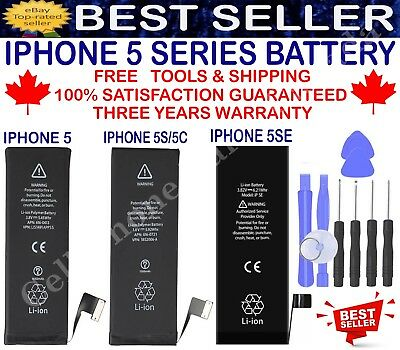 Brand New Replacement Battery Compatible For iPhone 5 5S 5SE With Free Tools