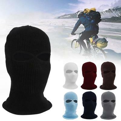 f16435757001 3 Hole Full Face Mask Ski Mask Winter Cap Balaclava Hood Army Tactical Mask  Sigh