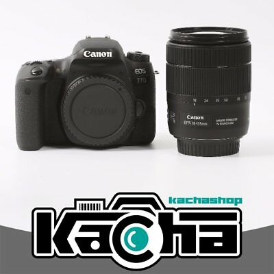 NUEVO Canon EOS 77D DSLR Camera with 18-135mm f/3.5-5.6 IS Nano USM Lens
