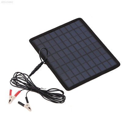 3348 12V 5W Solar Panel Power Battery Charger Backup For Car Boat Automobile