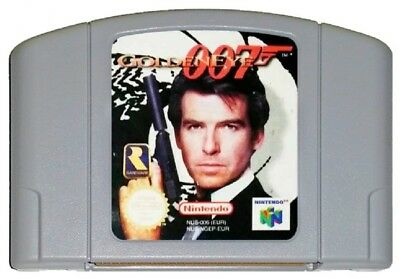 007 GOLDENEYE (PAL N64 Game) Nintendo 64 James Bond GENUINE B