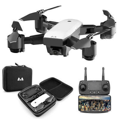 1080P 120°Wide-Angle 2.4G Aititude Hold RC Toy Helicopter Foldable Selfie Drone!