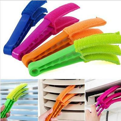 Cleaner Air Brush Window Conditioning Blinds 3 Blades Shutter Home Tool Brush YI