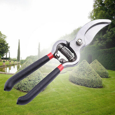 """8"""" Professional Pruning Shears Trimmer High Quality Tool Home Garden Clippers Ex"""
