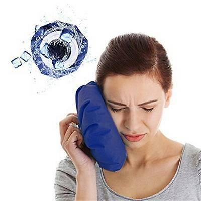 Ice Bag Heat Cold Cooler Pack Reusable Injury Knee Head First Aid Pain Relief YI