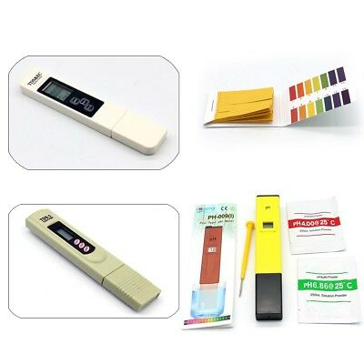 Electric Digital LCD PH TDS & EC Water Quality Meter Tester PPM Hydroponics Pen