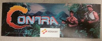 Contra marquee sticker. 3.25 x 10. (Buy any 3 stickers, GET ONE FREE!)