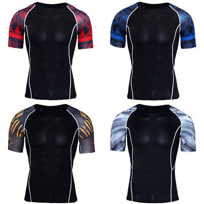 Men's t-Shirt Men's Tight-Fitting Round Neck Wide Shoulder Short Sleeve